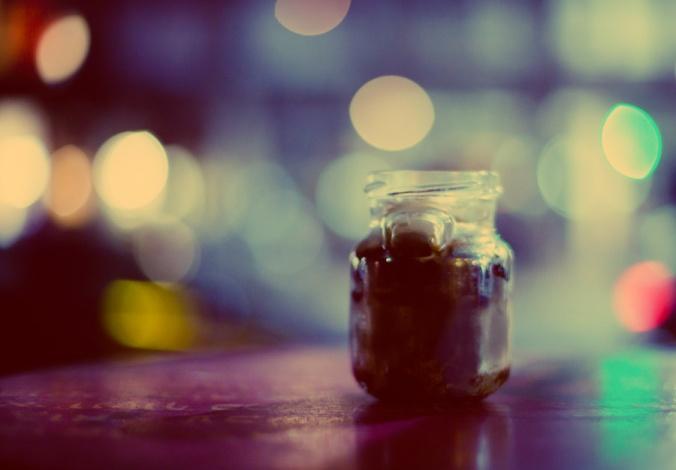 Jar of perfume