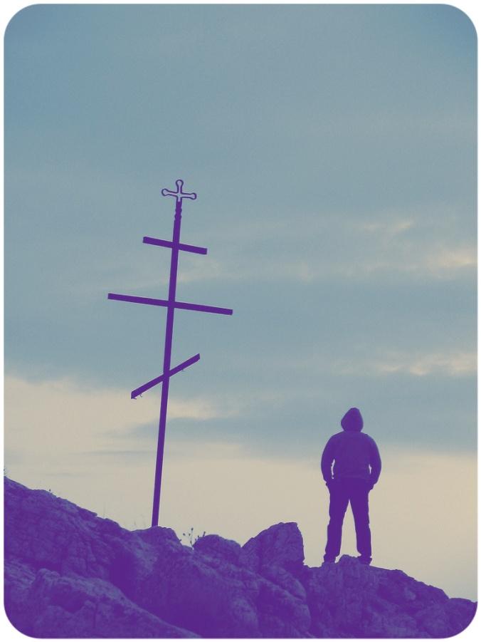 Man At The Cross