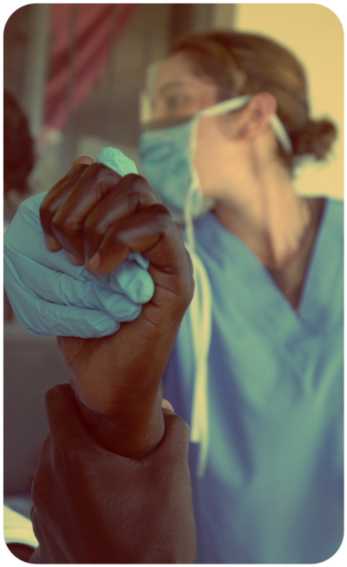 doctor holding hand (photo credit: US Army Africa via photopin cc)
